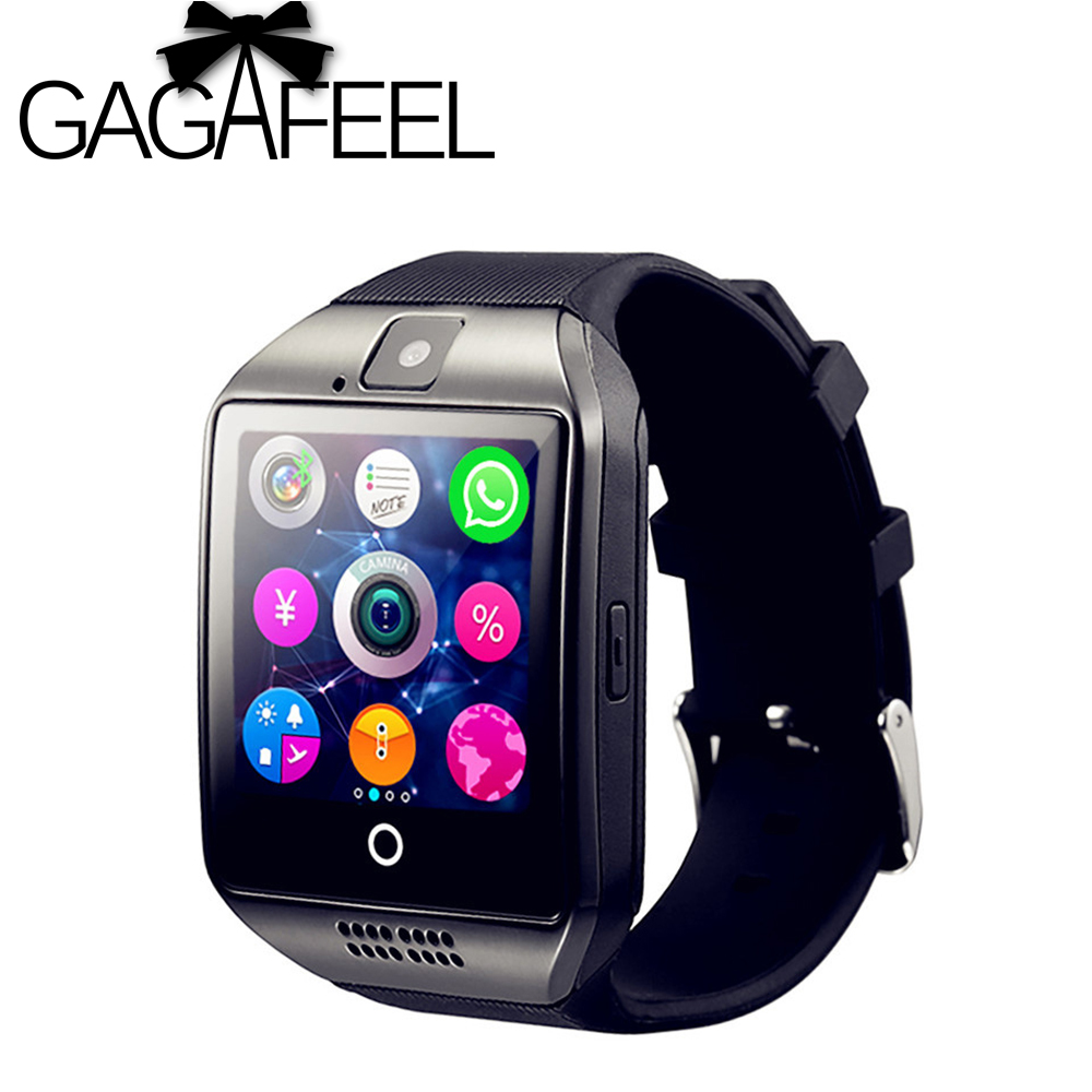 Gagafeel Q18 Smart Watch for men women children Sweatproof font b Phone b font with Camera