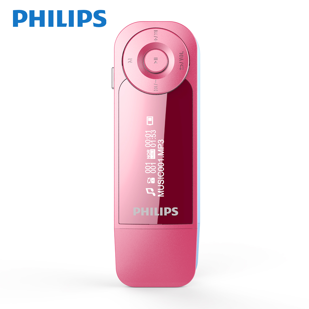 PHILIPS FM MP3 Music Player Lossess Hi-Fi Sound Quality for Student or White-collar worker to Learn Language and Listen to Music