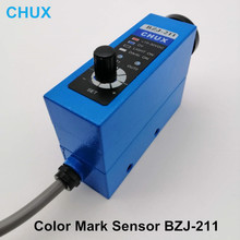 BZJ-211 Color Mark Sensors Packing Machine Auto tracking/rectify deviation, Auto Detection Photoelectric Eyes Mark Switch