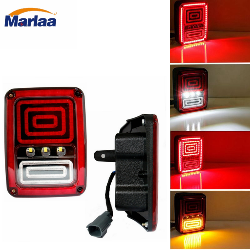 Marlaa 1 Pair Replacement Us European Version Led Tail