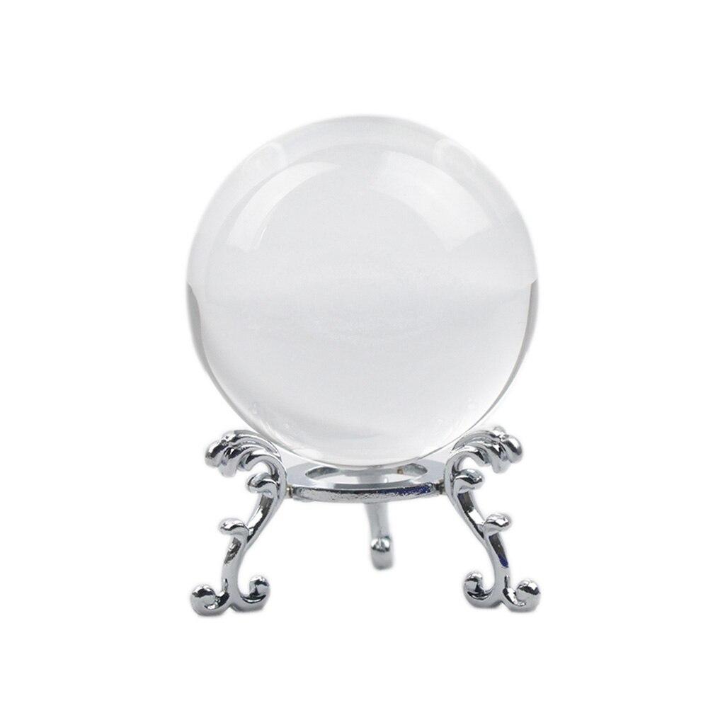 60/70/80 MM Fotografia FengShui Bola de Cristal Mágica bola de cristal Bola De Vidro Esfera De Vidro Decoração de Casa