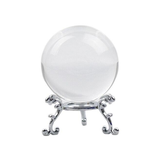 60/70/80MM Crystal Ball Photography FengShui Magic Glass Ball Home Decor Glass Sphere bola de cristal