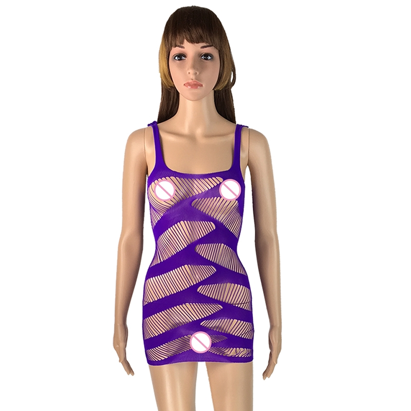 22a78b98543 See Through Dress Mini Dress Women Sexy Teddies Body Fishnet Spandex  Bodysuit Brand White Body Suit