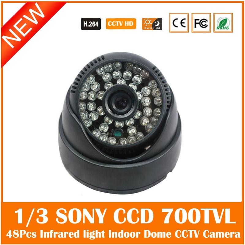 Ccd 700tvl Dome Camera Infrared Night Vision Plastic Indoor Mini Cctv Cmos Webcam Surveillance Security Freeshipping Hot Sale cmos 800tvl bullet camera infrared light night vision cctv outdoor surveillance security plastic mini webcam freeshipping