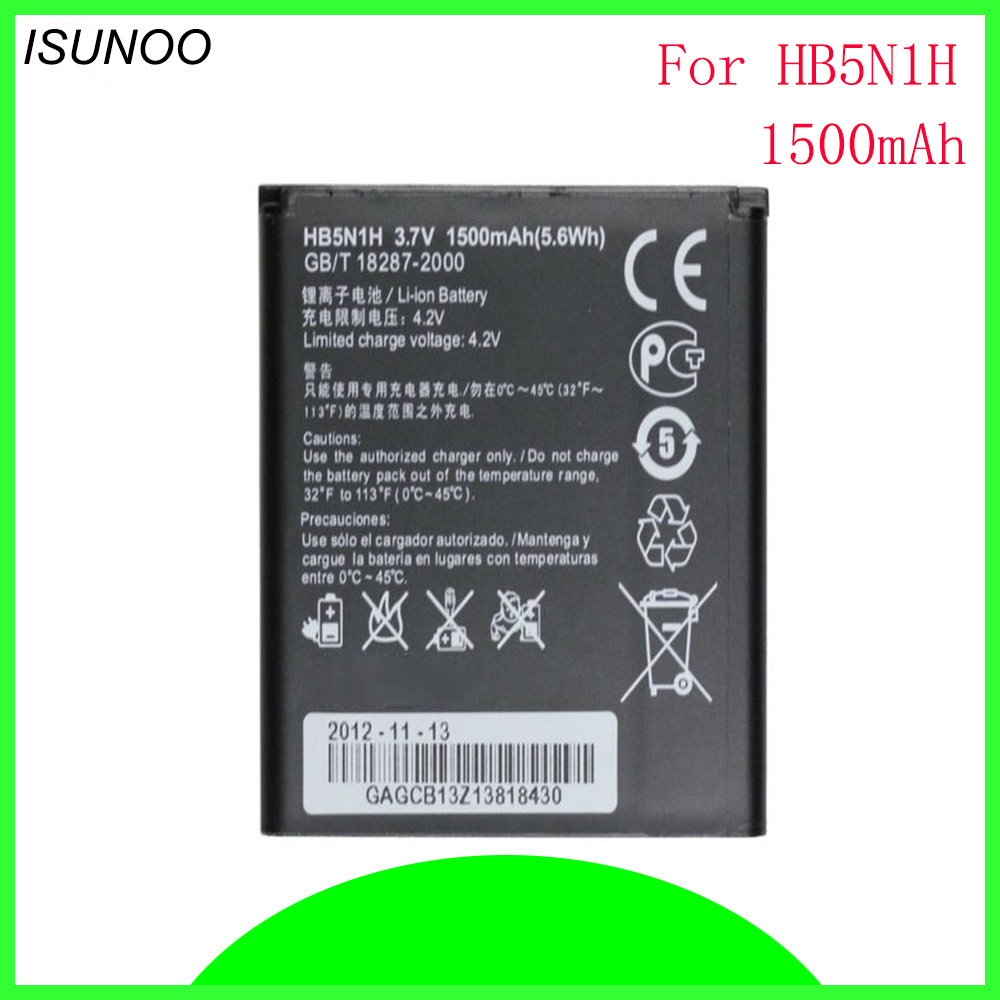 Mobile Phone Parts Stonering 1850mah Hb5n1h Battery For Huawei Hua Wei Ascend G300 Ascend G305t C8812 U8815 U8818 T8828 Battery Cell Phone