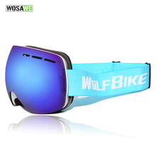 WOSAWE Mountain Ski Goggles Double UV Protection Snowboard Eyewear Outdoor Sports Skiing and Snowboarding Goggles