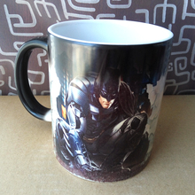 Batman Coffee Mugs Heat Color Changing Cups