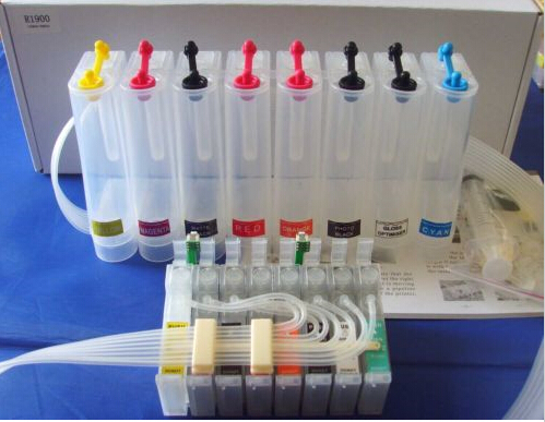 Cis Continuous Ink Supply System For EPSON Printers R1900 Photo R1900 CISS CIS Empty  Printer