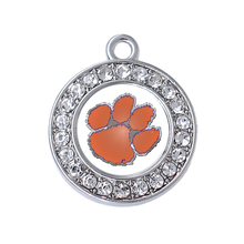 Buy college pendants and get free shipping on aliexpress double nose college basketball accessories clemson tigers mozeypictures Image collections