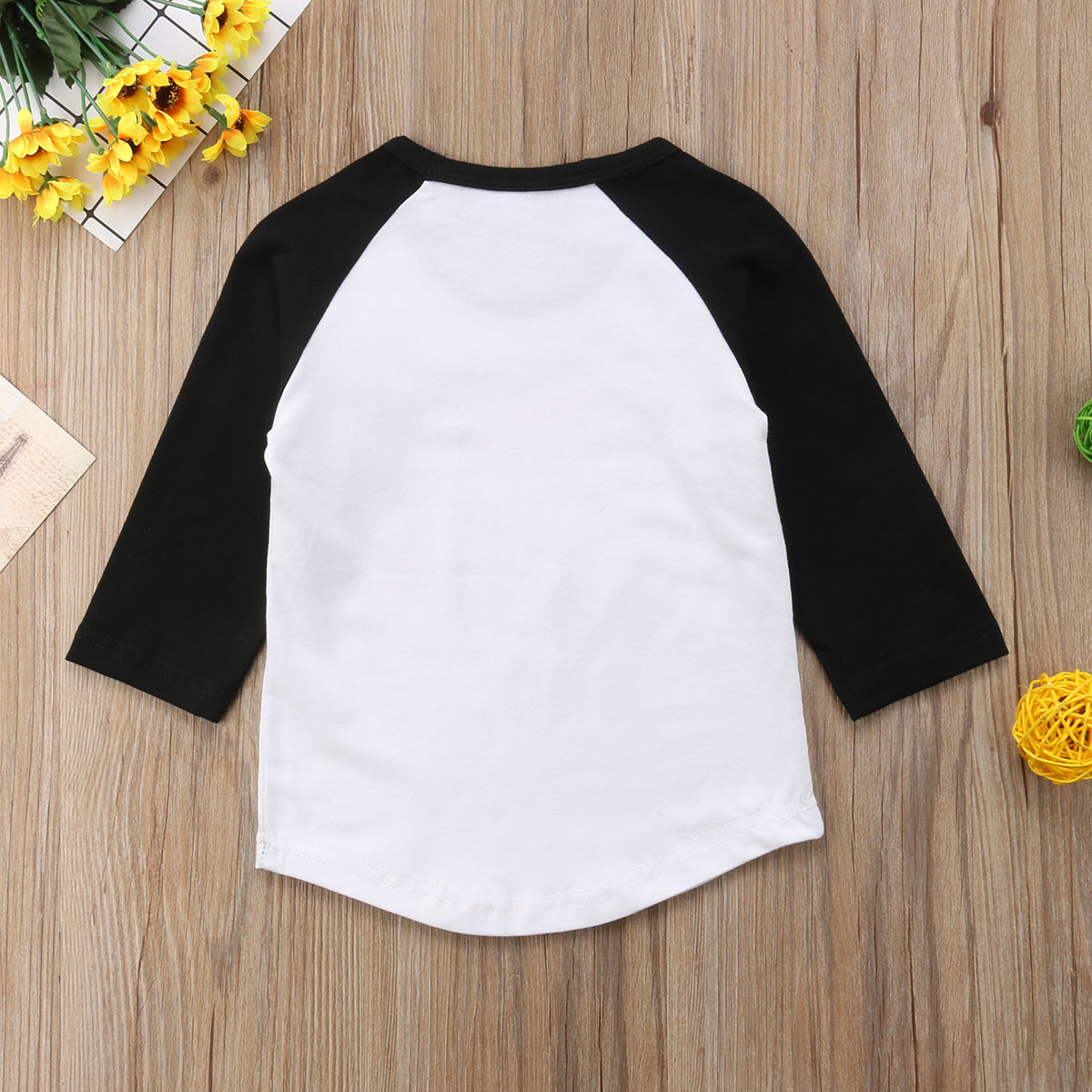 5da8e989316bb Baby Girls Boys Christmas Hat Print Raglan Long Sleeve Crew Neck T Shirt  Blouse Outfits-in T-Shirts from Mother   Kids on Aliexpress.com