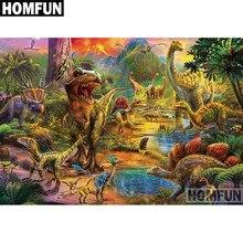 Homfun Volledige Vierkante/Ronde Boor 5D Diy Diamant Schilderij