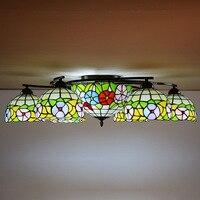 style rural ceiling lamp, Tiffany's living room lamp, bedroom lighting, Jane European chandelier lamps wholesale