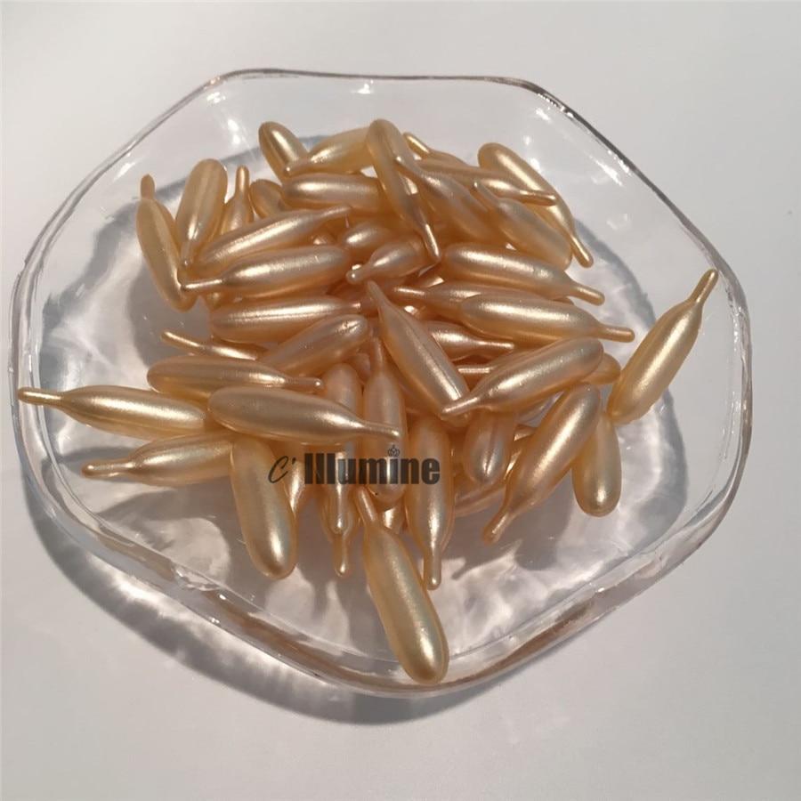 10 Pieces Aloe Vitamine E Collagen Oil Facial Serum Capsule Anti-Aging Anti-wrinkle