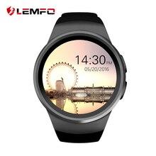 Купить онлайн KW18 Смарт часы Bluetooth Inteligent Smartwatch Поддержка SIM монитор сердечного ритма часы