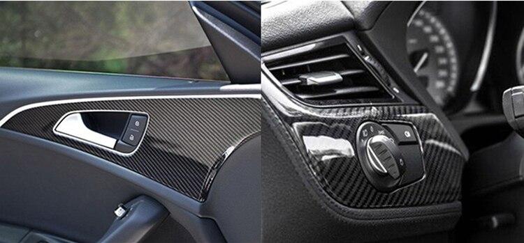 Image 5 - 1 Pc 50*200cm Black 5D Carbon Fiber Vinyl Film Car Wrap Film 5D Roll Car Sticker Auto Sport Exterior Accessories Film-in Car Stickers from Automobiles & Motorcycles