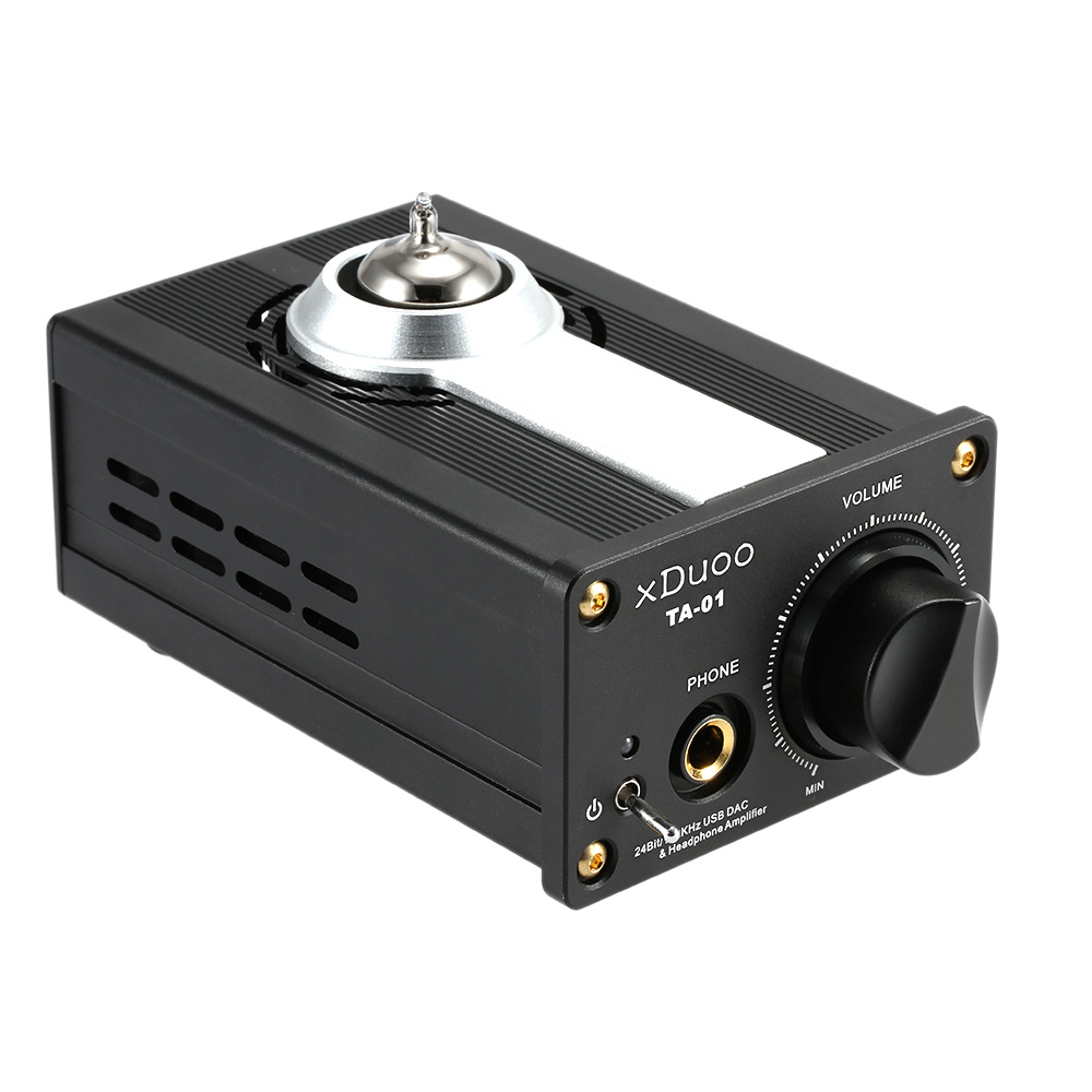 все цены на Original XDUOO TA-01 Hifi 24bit/192KHz USB DAC + Tube Headphone Amplifier Tube Power Amplifier Class A Buffer Amp онлайн