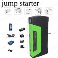 MINI Portable Car Jump Starter Start Booster Multi Function Diesel Power Bank 50800mAh 12V Car Charger2USB