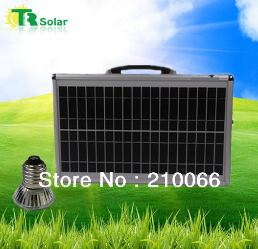 solar foldable 20w portable system outdoor indoor home system with led lighting Portable fast mobile laptop sunpower charger