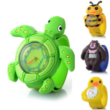 Children Cartoon Quartz Watch 16 Kinds of Animal for Kids Bo