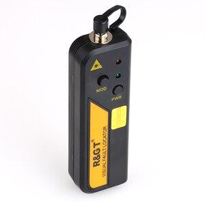 Image 3 - Kelushi 10mw ftth mini tipo localizador visual da falha da fibra óptica ferramenta de teste do verificador da fonte de luz vermelha com conector de 2.5mm (sc/fc/st)