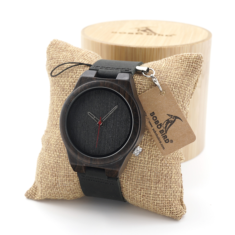 BOBO BIRD B10 Men's Wood Bamboo Wristwatch Antique Unique Design Men Top Brand Wooden Bamboo Wrist Watches