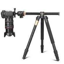 Q999H Horizontal Arm Professional Camera Tripod Portable Travel Tripod Stand with Ball Head For Canon Nikon Sony DSLR DV Tripod