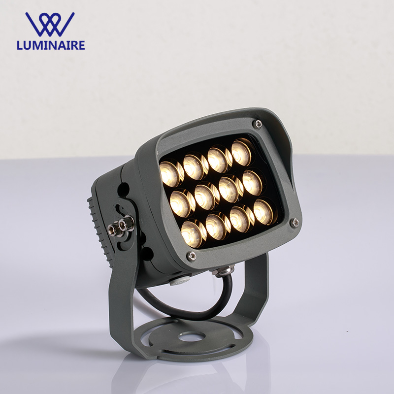 VW Luminaire 12W Exterior led projector IP67 Searchlight refletor led Spotlight flood light aluminium Outdoor lighting fixture