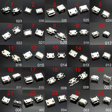 25 models Micro usb connector Very common charging port for Samsung/Moto/SONY/HTC/ZTE/Huawei/Xiaomi/Lenovo/... mobile,tablet GPS(China)