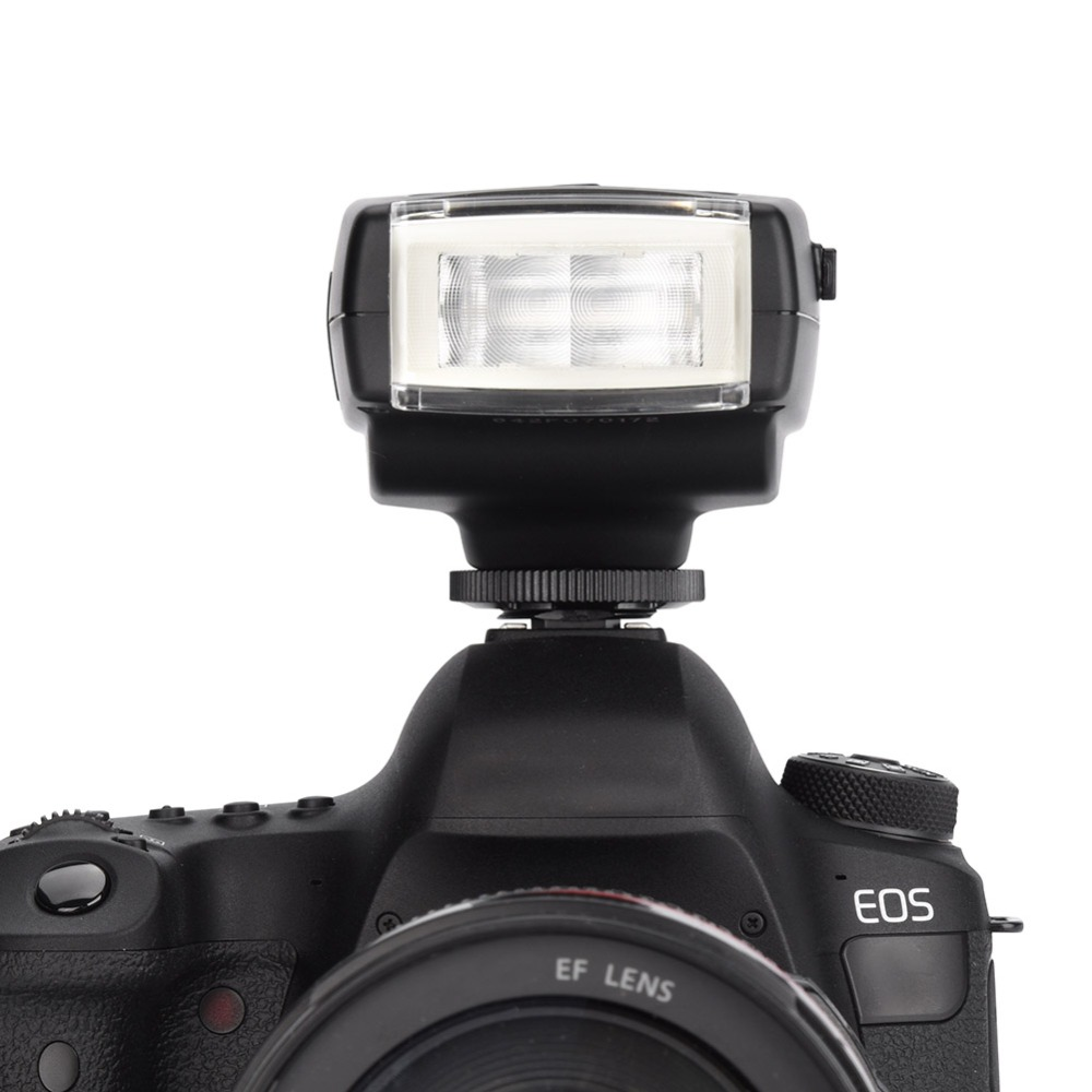 Professional Meike MK-300C Portable TTL Mini On-Camera Flash Speedlight for Canon Camera meike ttl off camera flash remote shoe cord for canon