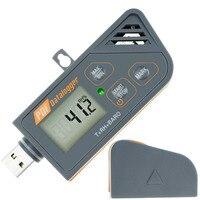 Digital USB Datalogger Humidity Temperature & Pressure Barometric Data Logger gauge Waterproof PDF & Excel report LED indicator