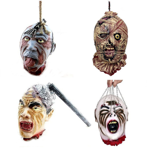 Tricky Toy terror hanging Kito Halloween Haunted House Props Bar Supplies free shipping
