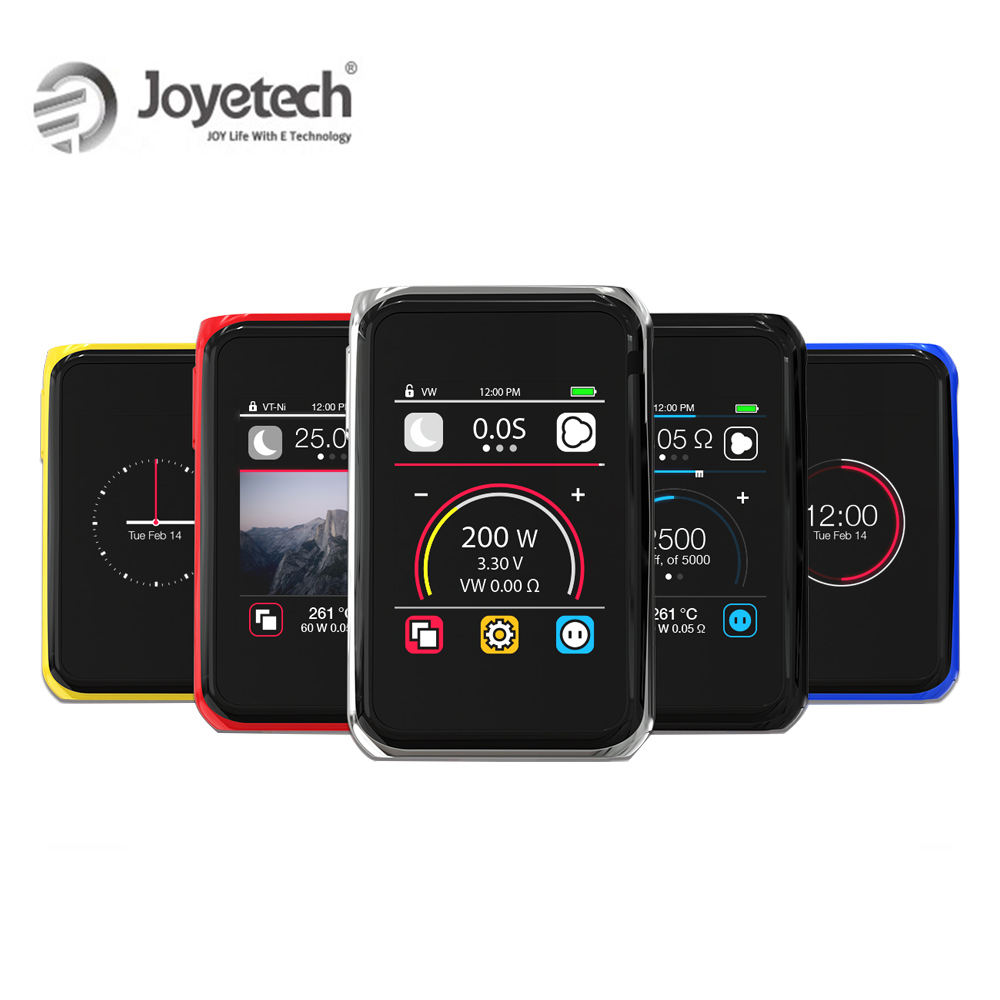 100% Original Joyetech Cuboid PRO kit mod écran tactile Écran Utilisé Par 18650 (pas inclus) 200 W Puissance e-Cig
