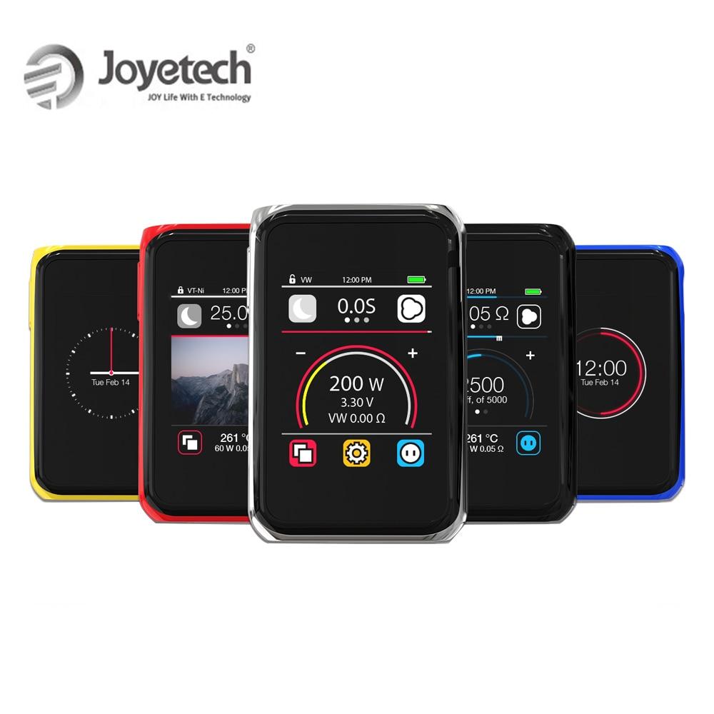 100% Original Joyetech Quader PRO Mod Kit Touch Panel Bildschirm Verwendet Durch 18650 (nicht enthalten) 200 W Leistung e-Cigs