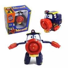 NEW 6pcs/set Robot Trains Transformation Kay Alf Dynamic Train Family Deformation toys for children Action Figure Toys