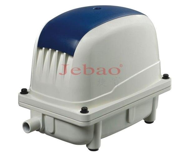 65 Watt 100L/min JEBAO ECO Luftpumpe Geräuscharm Belüfter für Koi Fischteich Große Druck Kompressor teich Hydrokultur sauerstoff pumpe-in Luftpumpen und Zubehör aus Heim und Garten bei  Gruppe 1