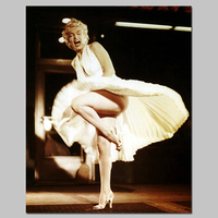 Black And White Beauty Marilyn Monroe Classic Posters Decoration Wall Art Picture Canvas Paintings For Living