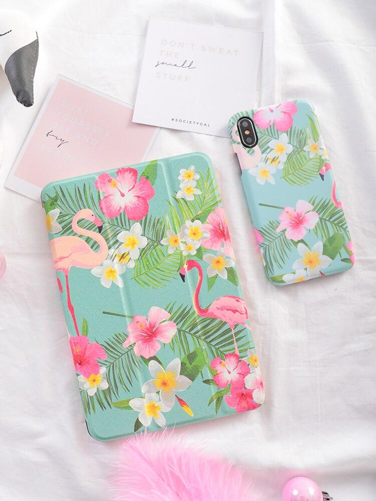 Flamingo Magnet Flip Cover For iPad Pro 9.7