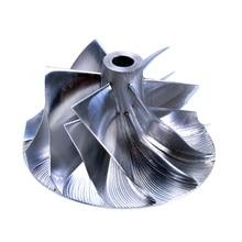 цена на Kinugawa Turbo Billet Compressor Wheel 43.4/56.03mm 6+6 for IHI for Nissan VR38DETT RHF55 GTR R35