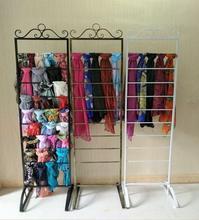 Tieyi scarf rack, silk clothing store island ground display rack