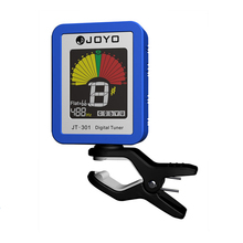 Joyo JT-301 Clip-on Electric Digital Tuner Guitar Accessories Color Screen with Silica Cover for Chromatic Bass Ukulele Violin