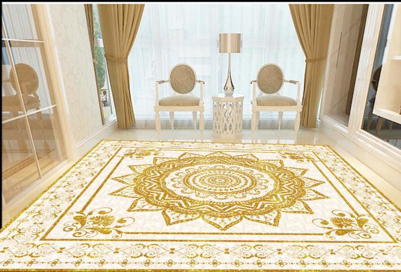 ФОТО 3d floor kitchen custom european 3d floor photo parquet pattern waterproof self-adhesive pvc wallpaper
