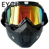 UV400 야외 오토바이 안전 안경 고글 남성 여성 스노우 보드 마스크 자전거 선글라스 안티 바람 장난감 총 보호 안경