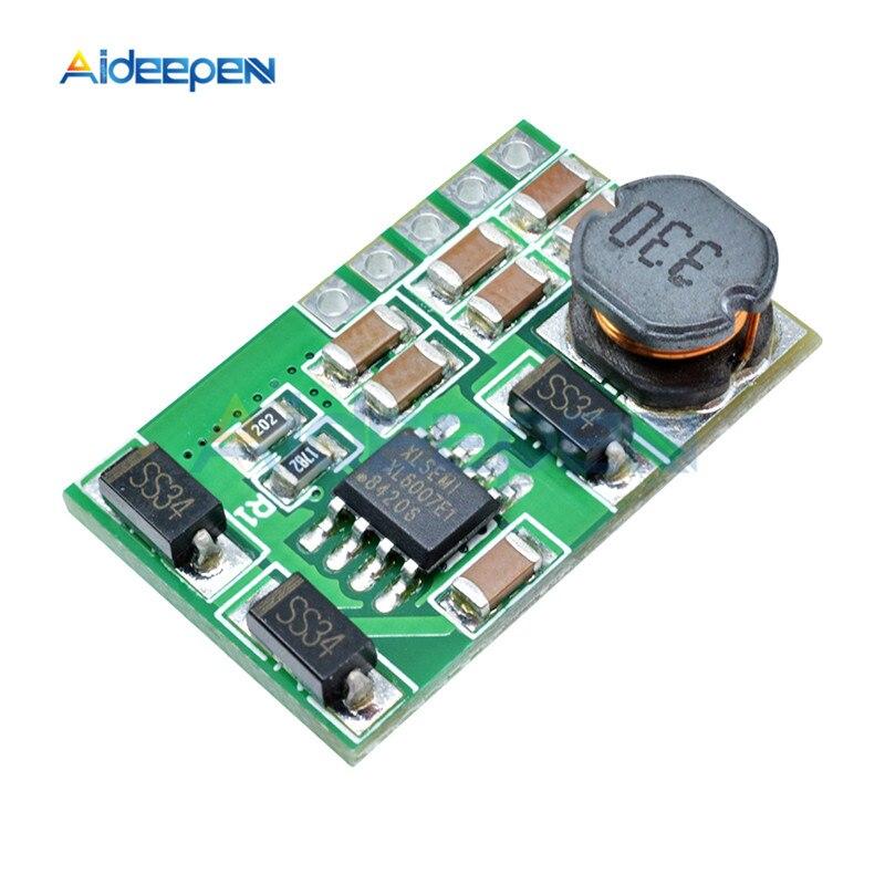 3 V-18 V to+-5V 6V 9V 12V 15V 24V 1.8A 2A положительный и отрицательный двойной Вт конвертер постоянного/переменного тока, повышающий наддува модуль Плата регулятора - Цвет: 12v without pin