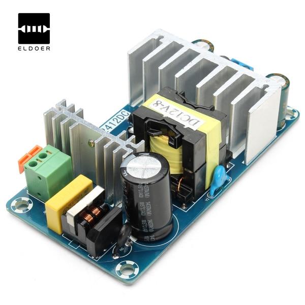 1 unid nueva llegada 6A a 8A 12 V Fuentes de alimentación conmutada tablero AC-DC módulo de potencia