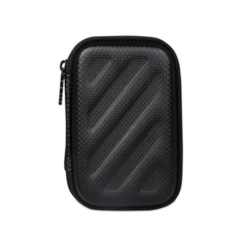 BUBM Portable Mini travel Bag for Earphone Headphone carry SD TF Cards case headset headphones box Black