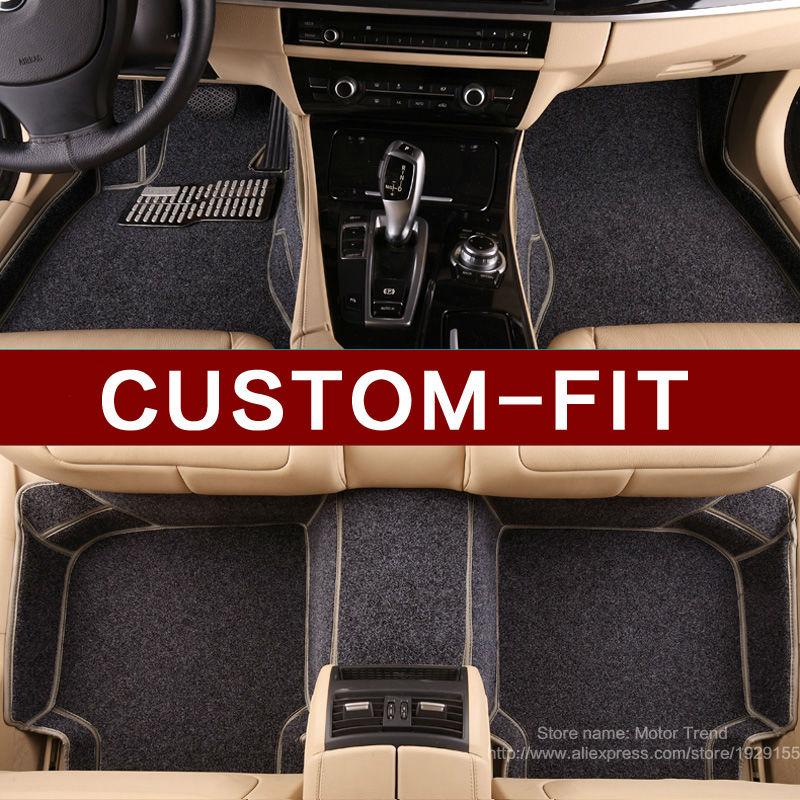 Compra alfombras de goma del piso del coche online al por - Alfombras peugeot 206 ...