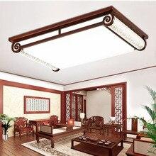 Chinesischen Stil Holz Moderne Deckenleuchte 110 V 220 Fhrte Deckenleuchten Schlafzimmer Wohnzimmer Wohnkultur Decke Leuchte