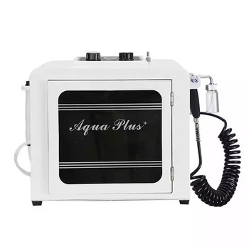 2 In 1 Oxygen Jet O2 Peeling Facial Machine Water Hydro Diomand Dermabrasion Vacuum Face Cleanser Skin Care Spa Beauty Device