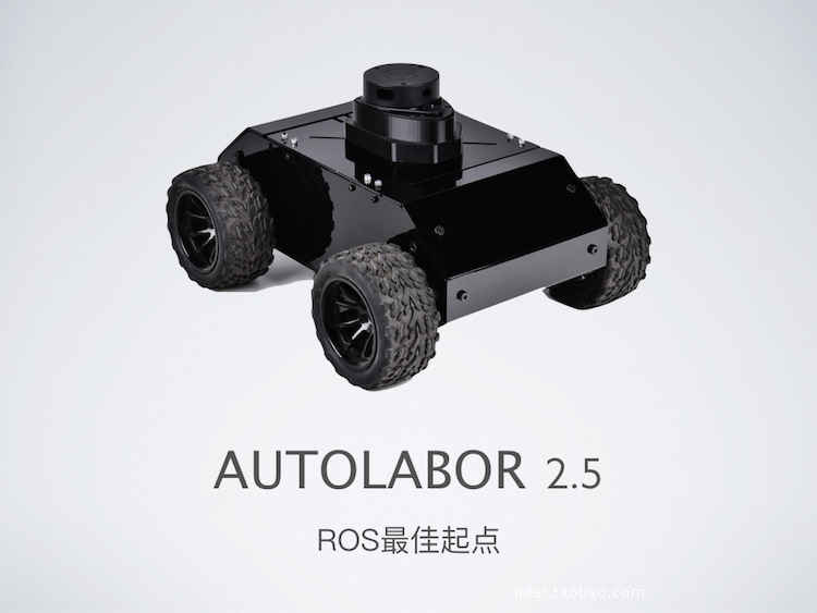US $719 0  ROS robot car Autolabor2 5 SLAM Navigation Turtlebot3-in  Programmable Toys from Toys & Hobbies on AliExpress