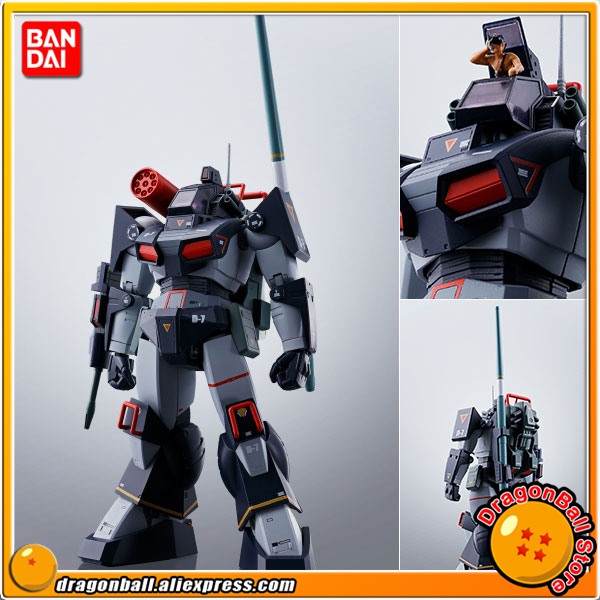 Japan Anime Fang of the Sun Dougram Original BANDAI Tamashii Nations HI-METAL R Action Figure - Dougram